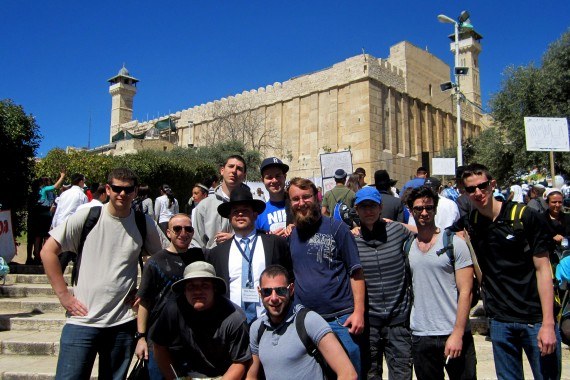 Guests Goes To Hebron on Passover