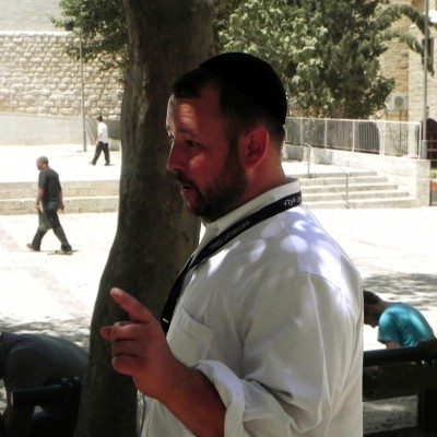 Rabbi Ben Packer, Director of the Jerusalem Heritage House, Give his final thoughts on the Heritage House Famous Tour of the old city.