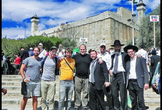 Jerusalem Heritage House goes to Hebron for Succot