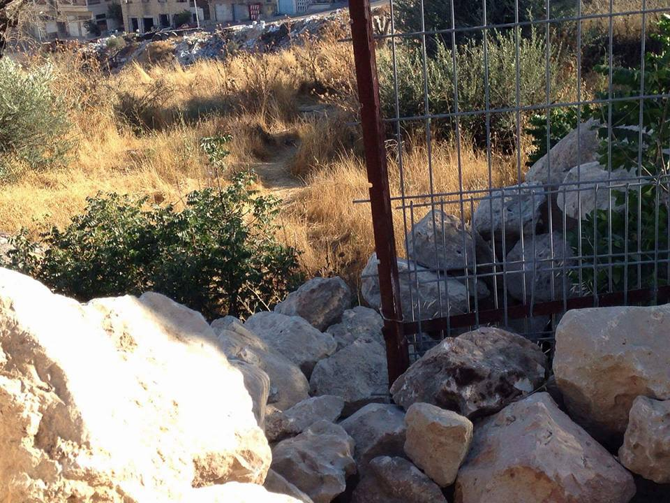 land cleared in Hevron!
