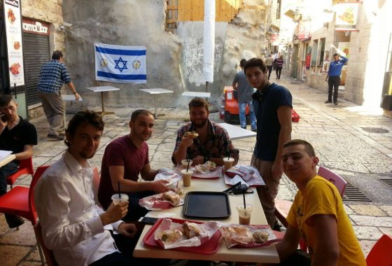"""Furniture moved into the newest reclaimed property in the """"muslim quarter"""" of the Old City!"""