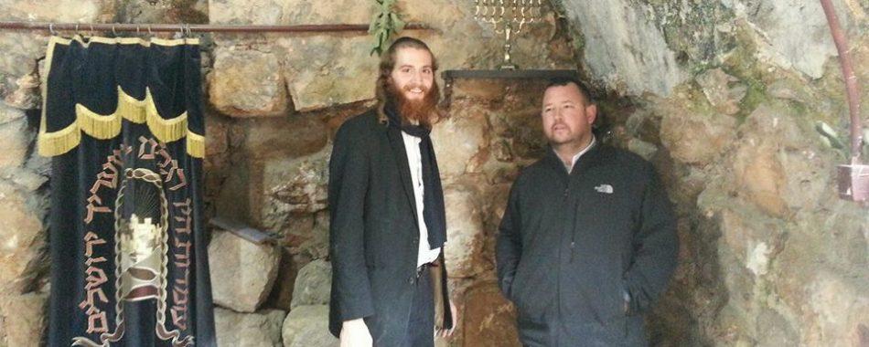 Hanukah Menorah and new shelf are up in Hevron!