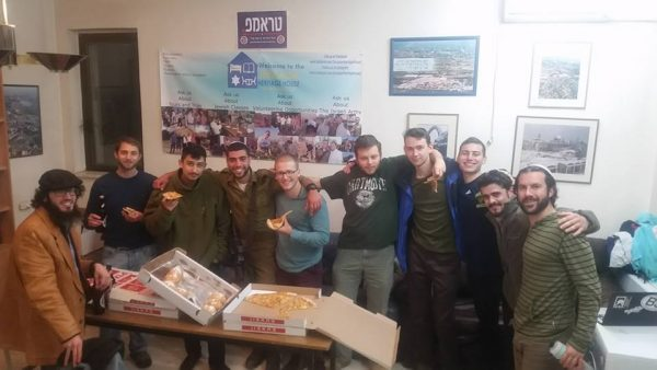 The laws of Hanukah, with pizza, beer and doughnuts!