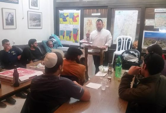 class on the laws of Hanukkah