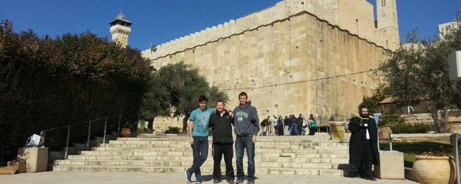 Trip with guests to Hevron today!