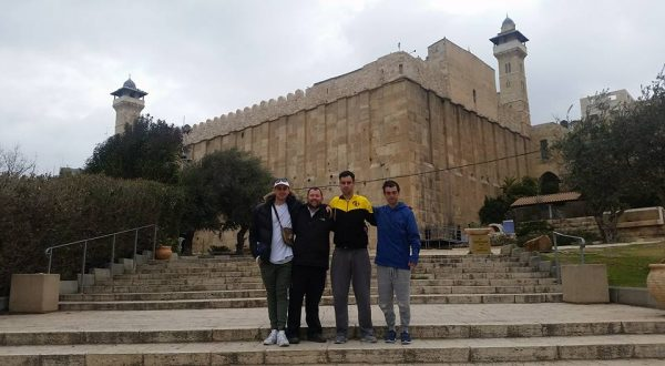 At the Tomb of the Patriarchs!