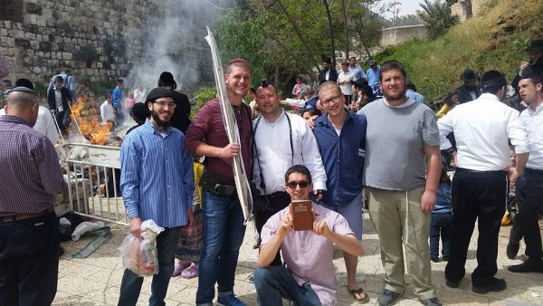 Burning the chametz