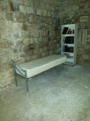 delivered new beds to new Jewish residences in Hevron!