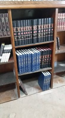 New full set of Koren Publishers Jerusalem Talmud in the ancient synagogue in Hevron