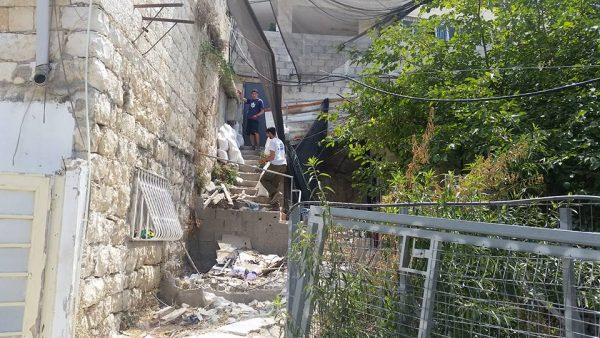 Kfar Teimanim/Silwan at the reclaimed Yemenite Synagogue