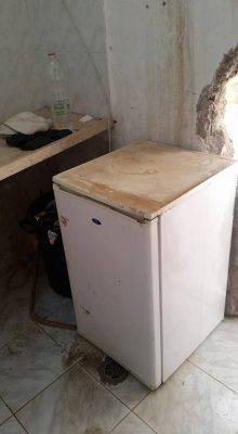 A small refrigerator for our Hevron annex