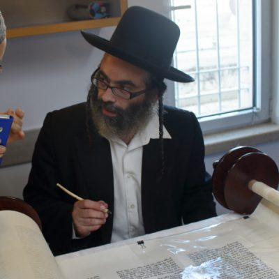 Torah Scribe, who also served in the Golani Brigade, like Max.