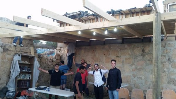 Under the Sukkah