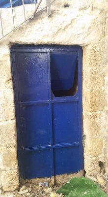 Another blue door!