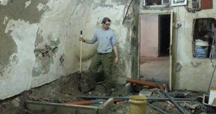 """Apartment being renovated in the """"muslim quarter"""" near the Lions Gate!"""
